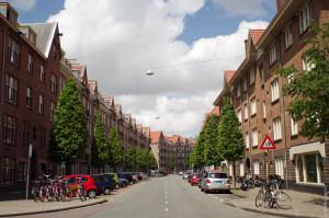 Buurtstraat Spaarndammerbuurt